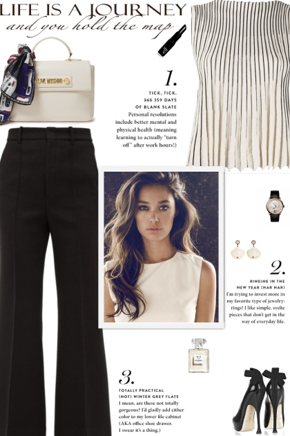 How to wear a Pleated Sleeveless Round Neck Top!