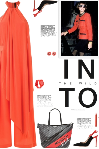 How to wear a Draped Halterneck Silk Jumpsuit!