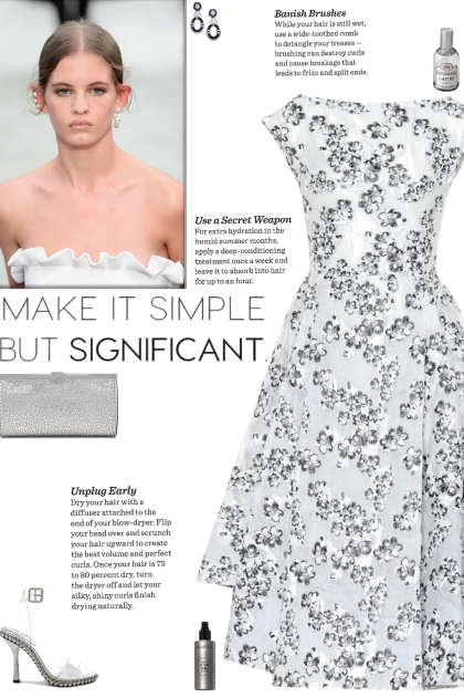 How to wear an Asymmetric Floral A-line Dress!