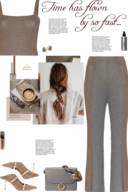 How to wear a Co-Ord Ribbed Knit Pant Set!