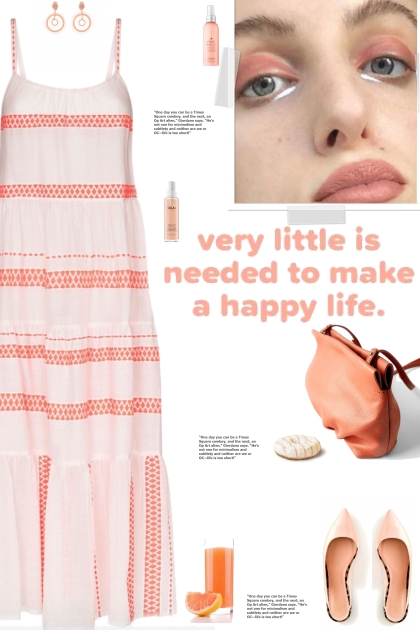 How to wear an Embroidered Striped Maxi Dress!