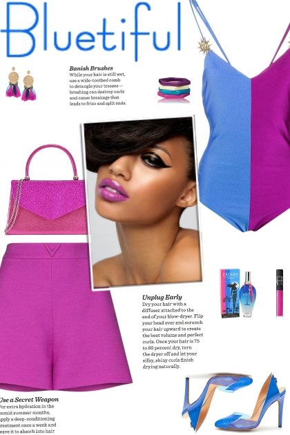 How to wear a Colorblock Spaghetti Strap Bodysuit!