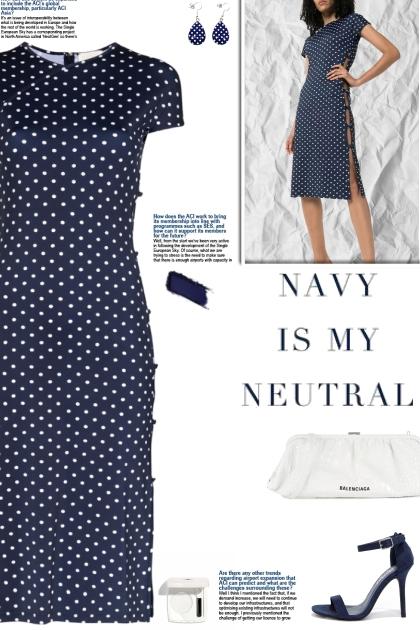 How to wear a Polka Dot Side Button Dress!