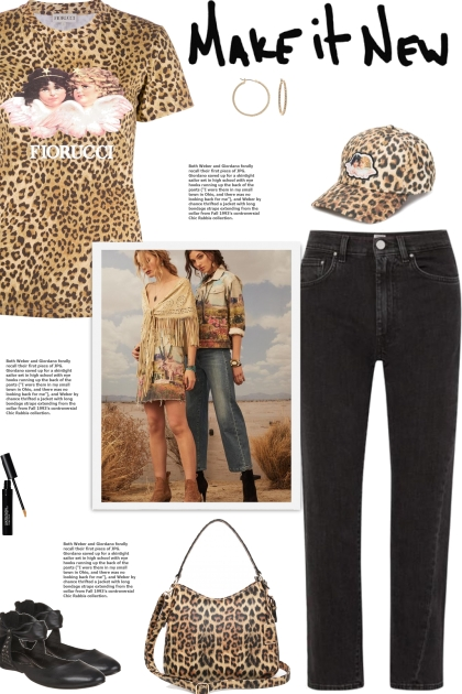 How to wear a Vintage Leopard Print T-Shirt!
