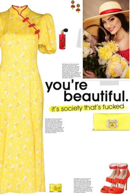 How to wear a Mandarin Collar Puff Sleeve Dress!