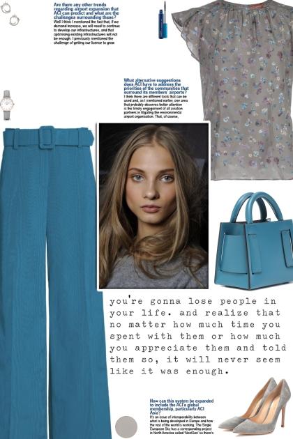How to wear a Floral Print Silk Multicolor Top!- combinação de moda