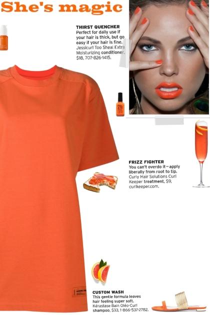How to wear an Oversized Logo Patch T-Shirt Dress!