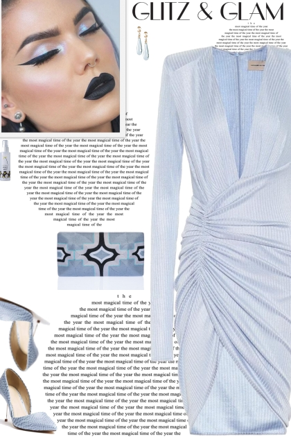How to wear a Metallic Ribbed Knit Mini Dress!