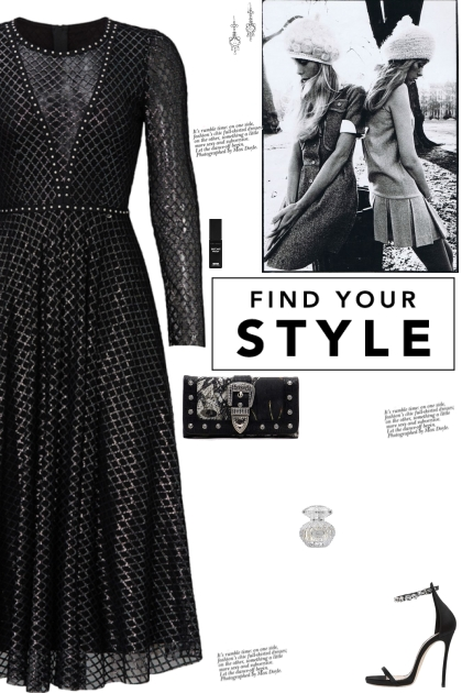How to wear a Printed Tulle Semi-Sheer Midi Dress!