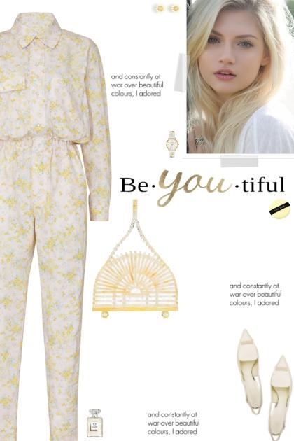 How to wear a Boyfriend Floral Print Jumpsuit!