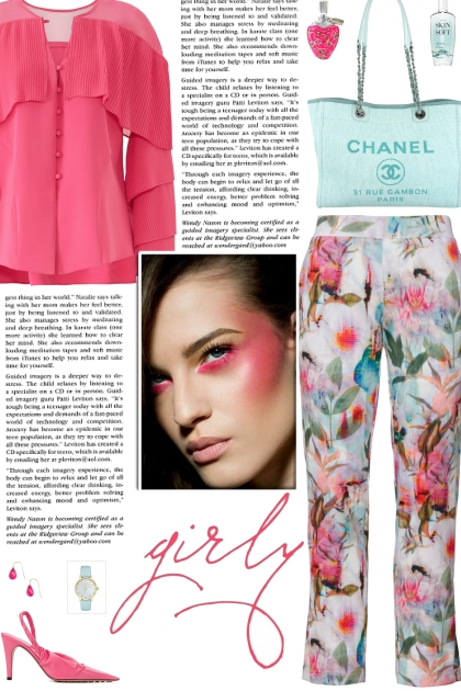 How to wear a Cropped Floral Multicolour Trousers!