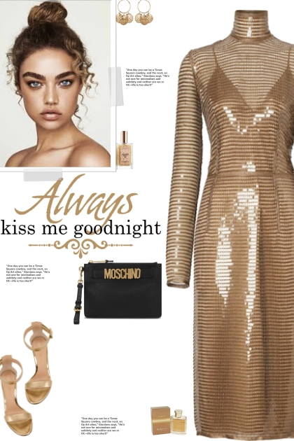 How to wear a Sequin High Neck Midi Dress!