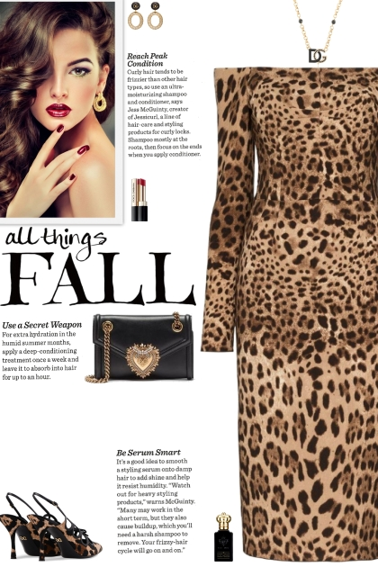 How to wear an Off-Shoulder Leopard Midi Dress!