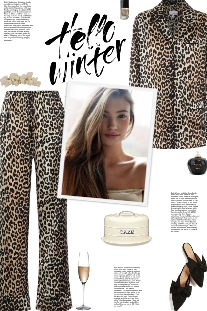How to wear a Co-Ord Animal Print Long Sleeve Set!
