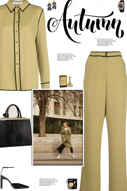 How to wear a Co-Ord Contrast Trim Pant Set!