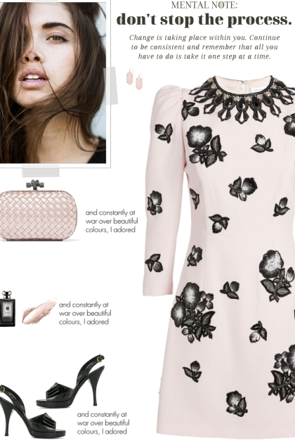 How to wear a Floral Embellished Mini Dress!