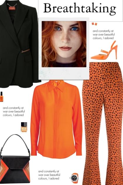 How to wear a Leopard Print Wide Leg Trouser!