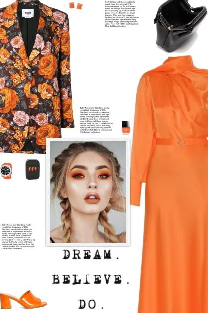 How to wear a Floral Cotton Blend Brocade Blazer!