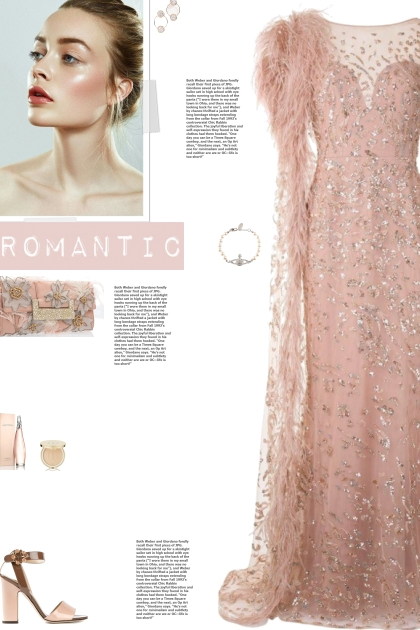 How to wear a Embellish Feather Long Sleeve Gown!