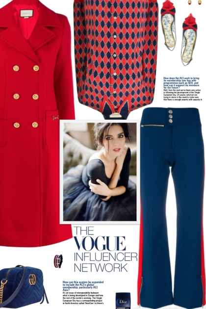 How to wear a Side Stripe Flared Trousers!