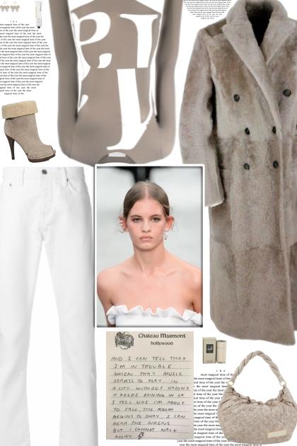 How to wear a Logo Print Long Sleeve Bodysuit!
