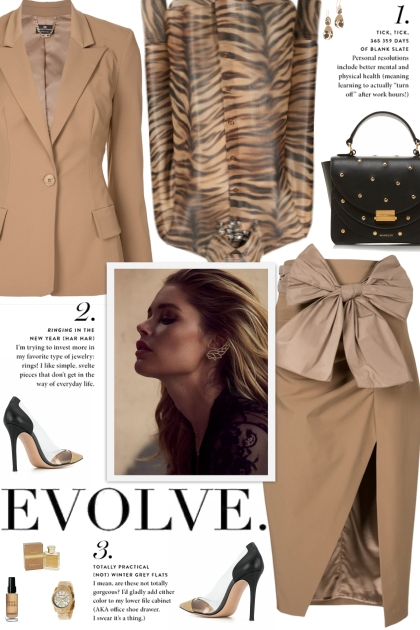 How to wear a Co-Ord Polyster-Blend Suit Set!- Fashion set