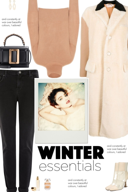 How to wear a Two-Toned Oversized Faux Fur Coat!