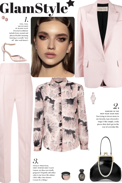 How to wear a Co-Ord Faux Lambskin Pastel Set!