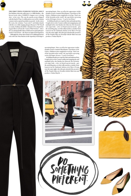 How to wear an Animal Print Wool Coat!
