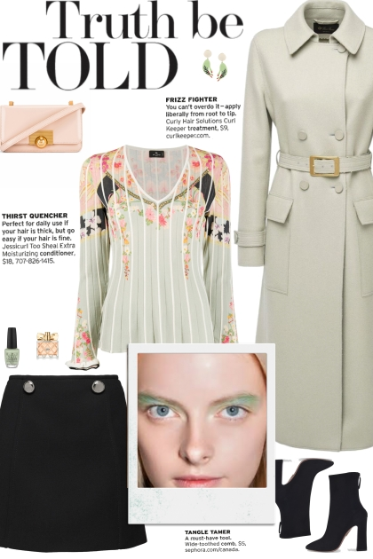 How to wear a Floral Bell Sleeve Sweater!- Modna kombinacija