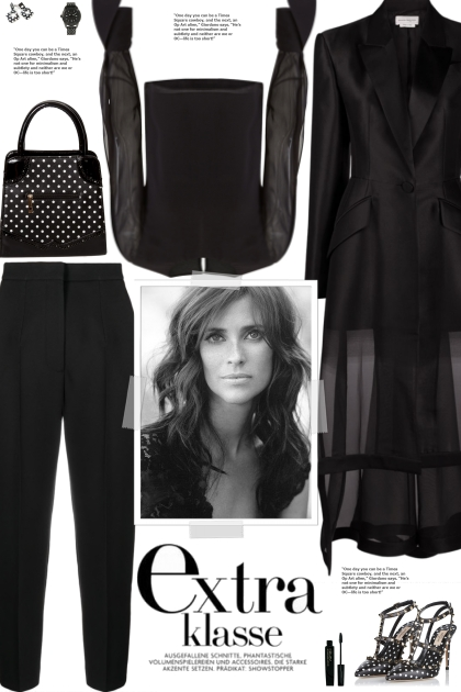How to wear a Co-Ord Sheer Overlay Suit Set!