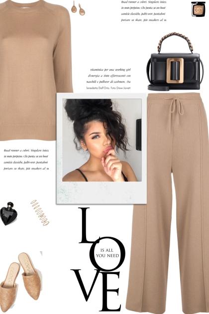 How to wear a Co-Ord Wool Loungewear Set!