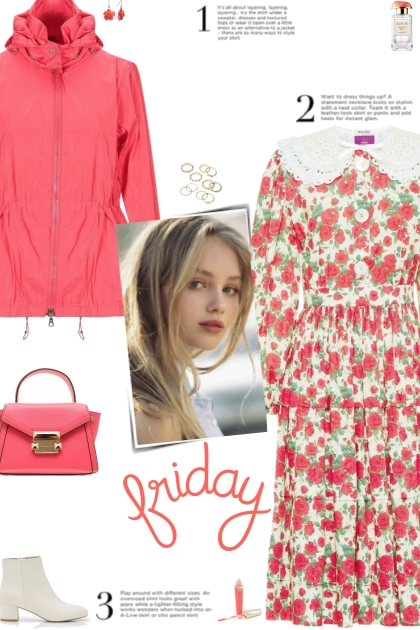 How to wear a Floral Print Cotton Midi Dress!