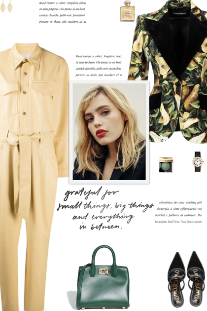 How to wear a Classic Collar Long Sleeve Jumpsuit!