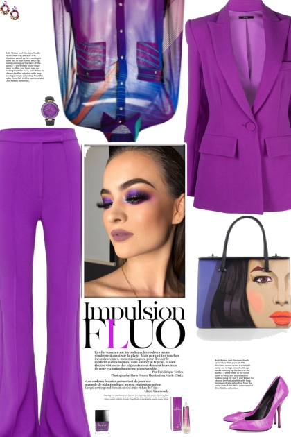 How to wear a Co-Ord Polyster-Acetate Suit Set!