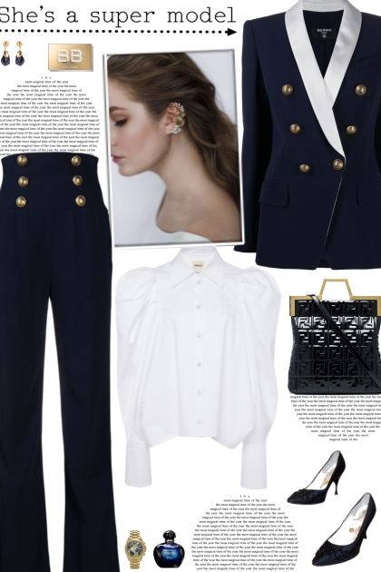 How to wear a Co-Ord Six-Button Suit Set!