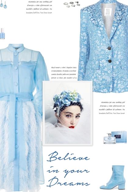 How to wear Floral Jacquard Classic Lapel Blazer!