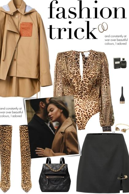 How to wear an All-Over Leopard Print Bodysuit!