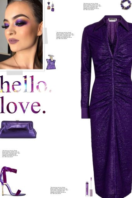 How to wear a Glittery Long Sleeve Midi Dress!
