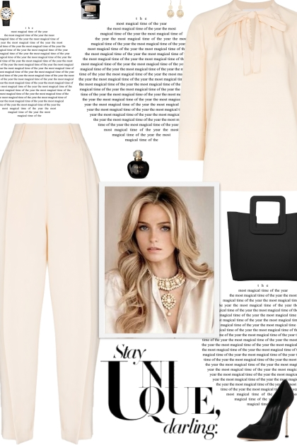 How to wear a Co-Ord Polyester Beige Pant Set!