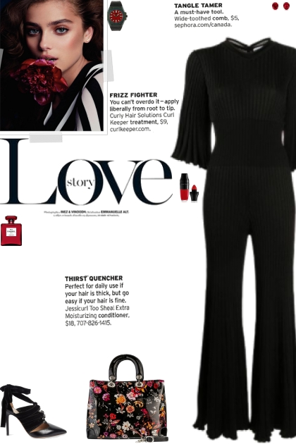 How to wear a Ruffled Pleated Jumpsuit!