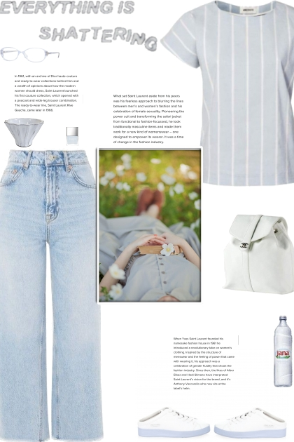 How to wear a Striped Short Sleeve Top!