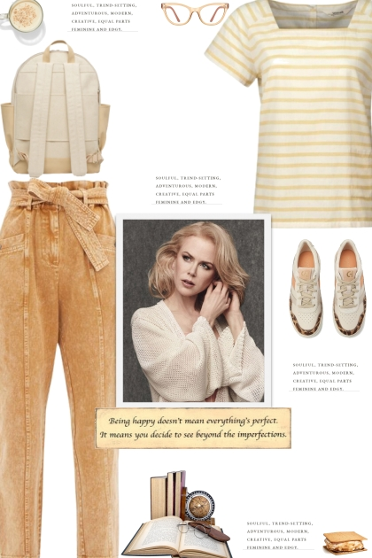 How to wear a Boxy Square Neck Striped Top!
