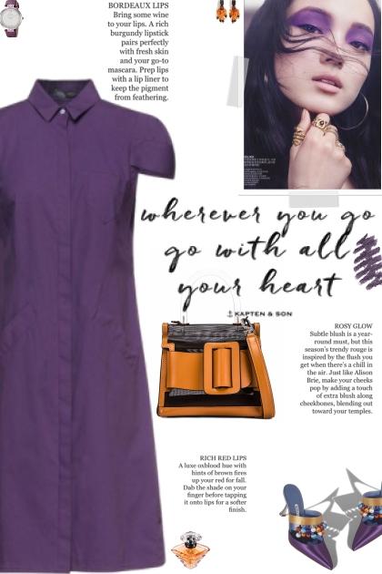 How to wear a Knee-Length Collar Dress!