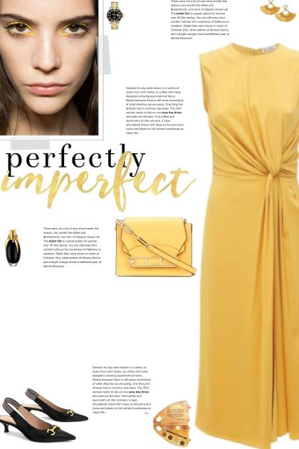 How to wear a Sleeveless Silk-Georgette Dress!