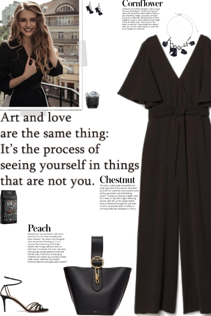 How to wear a V-Neck Wrap Jumpsuit!