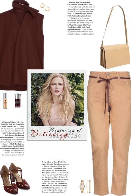How to wear Solid Color High Waisted Pants!