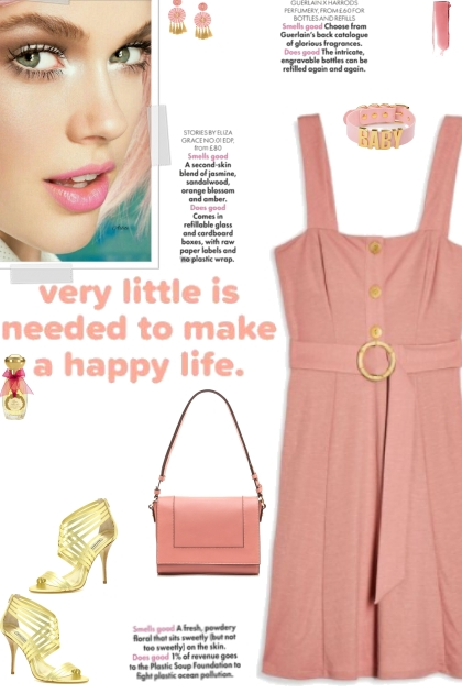 How to wear a Belted Solid Color Mini Dress!