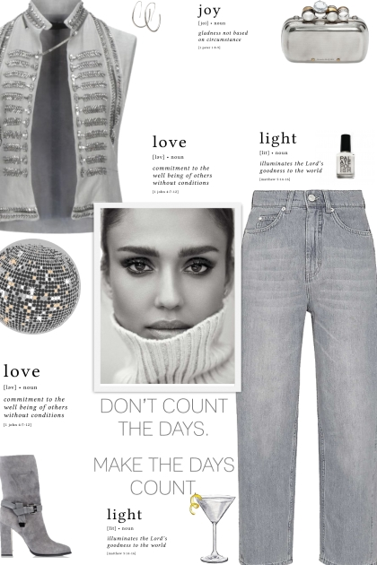 How to wear a Crystal Embellished Vest Style Top!