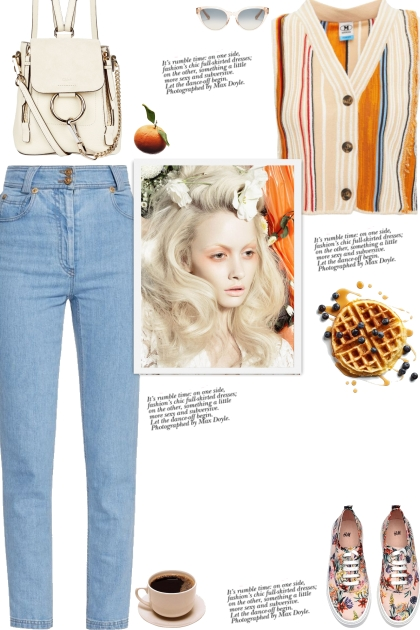 How to wear a Striped Cropped Vest!
